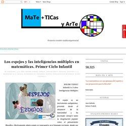 MaTe+TICas y ArTe: Los espejos y las inteligencias múltiples en matemáticas. Primer Ciclo Infantil