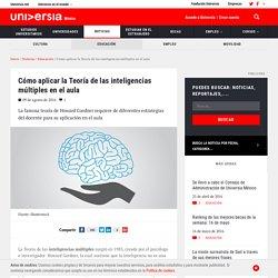Cómo aplicar la Teoría de las inteligencias múltiples en el aula
