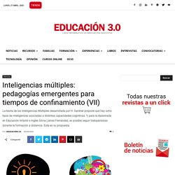 Inteligencias múltiples: pedagogías emergentes (VII)