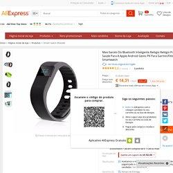Aliexpress.com: Compre Mais barato Do Bluetooth Inteligente Relógio Relógio Pulseira De Fitness Saúde Para A Apple Android Gesto PK Para Garmin/Fitbit/U8 Sport Smartwatch de confiança relógio robô fornecedores em J&Z Elec Top Store