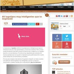 60 logotipos muy inteligentes que te inspirarán