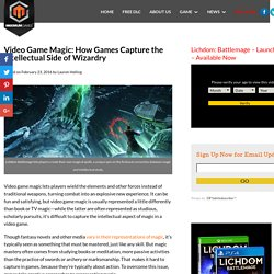 Video Game Magic: How Games Capture the Intellectual Side of Wizardry - Lichdom Battlemage