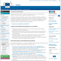 European Commission : Trade : Anti-Counterfeiting Trade Agreement (ACTA)