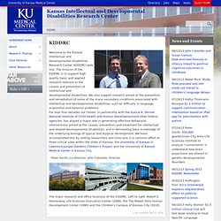 KIDDRC - Kansas Intellectual and Developmental Disabilities Research Center