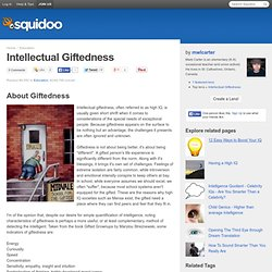 Intellectual Giftedness