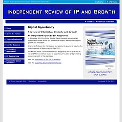 IPO Independent Review of IP and Growth