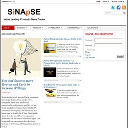 Intellectual Property Archives - SiNApSE