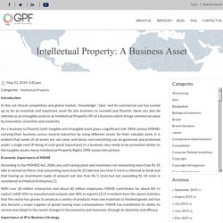 Intellectual Property: A Business Asset