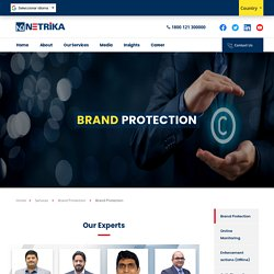 Online Brand Protection Services- Netrika
