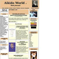 Aikido World Journal - Homepage