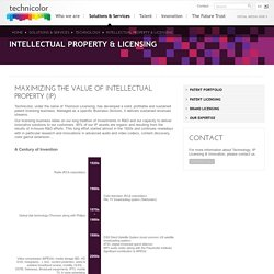 Intellectual Property & Licensing
