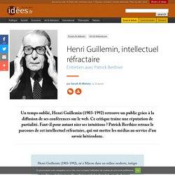 Henri Guillemin, intellectuel réfractaire