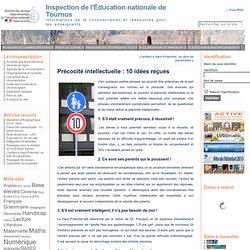 Précocité intellectuelle : 10 idées reçues « Inspection de l'Éducation nationale de Tournus
