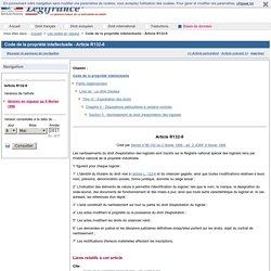 Code de la propriété intellectuelle - Article R132-8