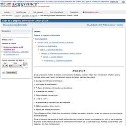 Code de la propriété intellectuelle - Article L132-6
