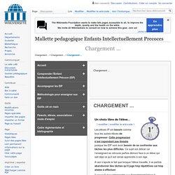 Mallette pedagogique Enfants Intellectuellement Precoces-Importance des amenagements pedagogiques-La complexification
