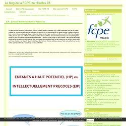EIP : Enfants Intellectuellement Précoces - Le blog de la FCPE de Houilles 78