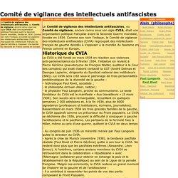 Comité de vigilance des intellectuels antifascistes