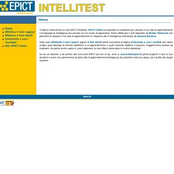 Intelli test
