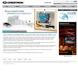 IntelliClass - Complete Classroom AV Presentation Systems