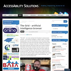 The Grid – artificial intelligence browser