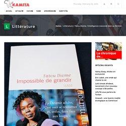 Fatou Diome, l'intelligence s'accorde bien au féminin - Kamita Magazine