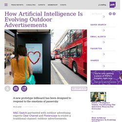 How Artificial Intelligence Is Evolving Outdoor Advertisements