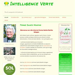 Intelligence Verte: Agriculture biologique, Formation bio, Trava