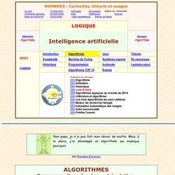 intelligence artificielle, les procédures algorithmiques