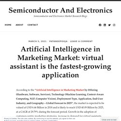 Artificial Intelligence in Marketing Market: virtual assistant is the fastest-growing application