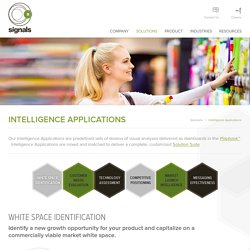 Intelligence Applications - Signals Group