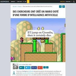 Des chercheurs ont créé un Mario doté d'une forme d'Intelligence Artificielle