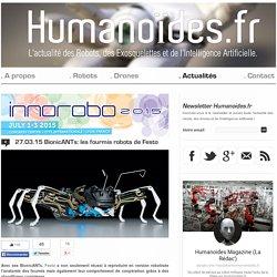 BionicANTs: les fourmis robots de FestoRobots, Drones et Intelligence Artificielle