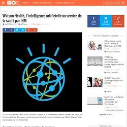 Watson Health, l'intelligence artificielle au service de la santé par IBM