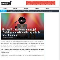 Microsoft travaille sur un projet d'intelligence artificielle capable de noter l'humour