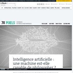 Intelligence artificielle : une machine est-elle capable de philosopher ?