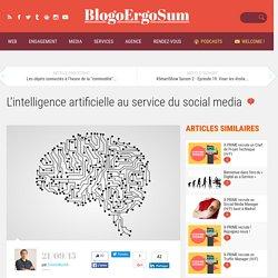 L'intelligence artificielle au service du social media