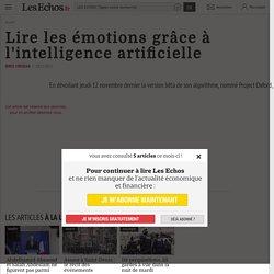 Lire les émotions grâce à l'intelligence artificielle