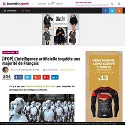 [IFOP] L'intelligence artificielle inquiète une majorité de Français