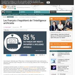 Les Français s'inquiètent de l'intelligence artificielle