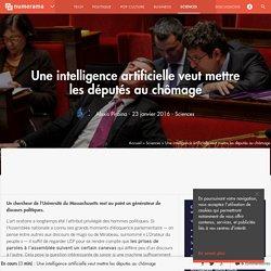 Une intelligence artificielle veut mettre les députés au chômage - Sciences