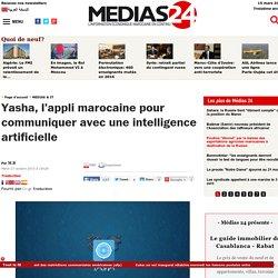 Yasha, l'appli marocaine pour communiquer avec une intelligence artificielle