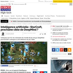 Intelligence artificielle : StarCraft, prochaine cible de DeepMind ?