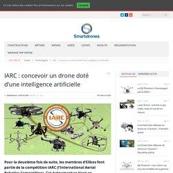 IARC : concevoir un drone doté d'une intelligence artificielle