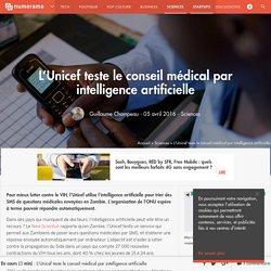 L'Unicef teste le conseil médical par intelligence artificielle - Sciences