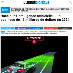 Ruée sur l'intelligence artificielle... un business de 11 milliards de dollars en 2024