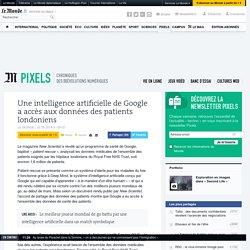 Une intelligence artificielle de Google a accès aux données des patients londoniens