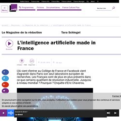 L'intelligence artificielle made in France