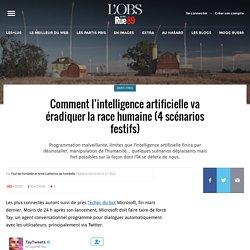 Comment l'intelligence artificielle va éradiquer la race humaine (4scénarios festifs)