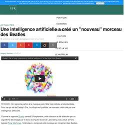 """Une intelligence artificielle a créé un """"nouveau"""" morceau des Beatles"""